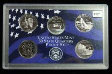 2001 S United States Proof Quarter Set
