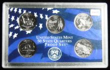 2002 S United States Proof Quarter Set