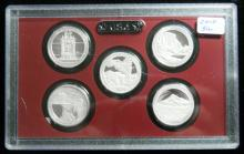 2010 S United States Mint Silver Proof Quarter Set