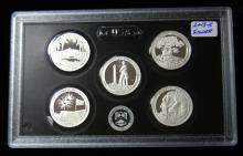 2013 S United States Mint Silver Proof Quarter Set