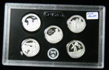 2016 S United States Mint Silver Proof Quarter Set
