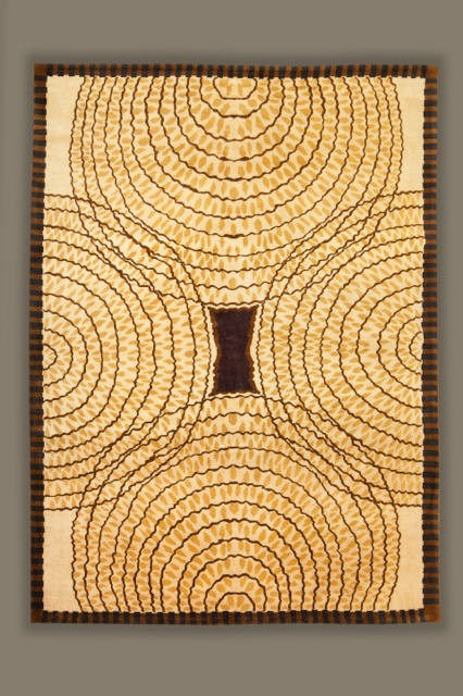 Tapis moderne contemporain xxe carton inspir par Beaux tapis contemporains
