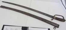 19th C. Signed Russian sword