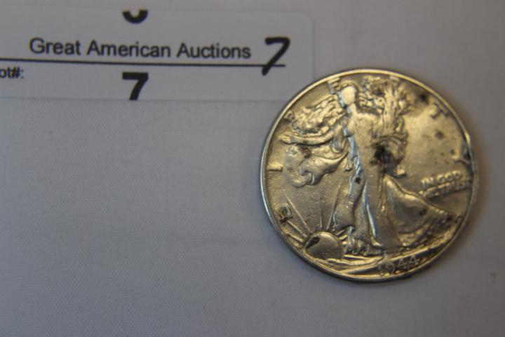 1944 Walking Liberty Half Dollar