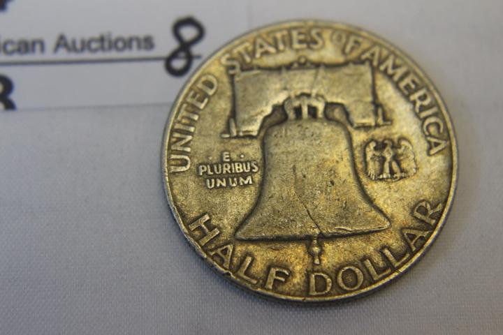 1952-D Franklin half Dollar