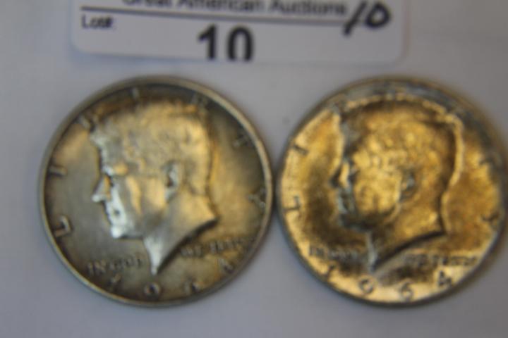1964 Kennedy 1/2 Dollar