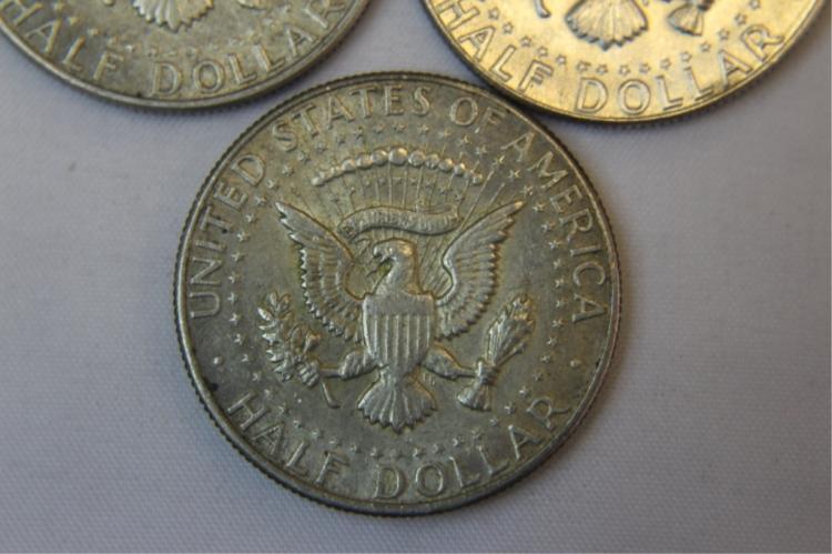 1968-D,1969-P Kennedy Half Dollar
