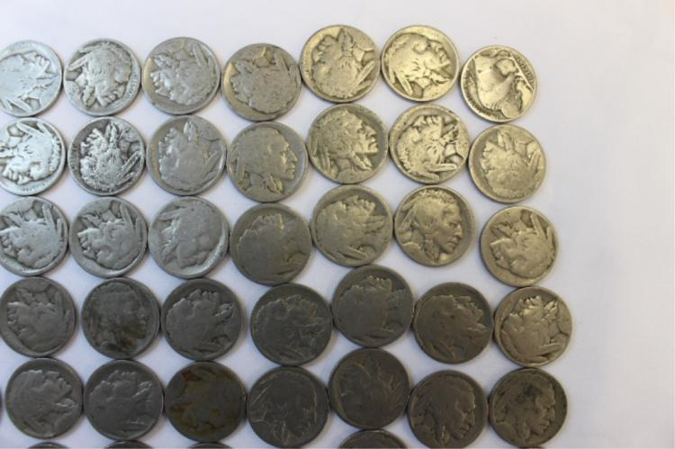 Multiable Dates Buffalo Nickels (49)