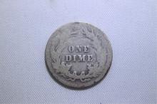 1909 Mercury Dime