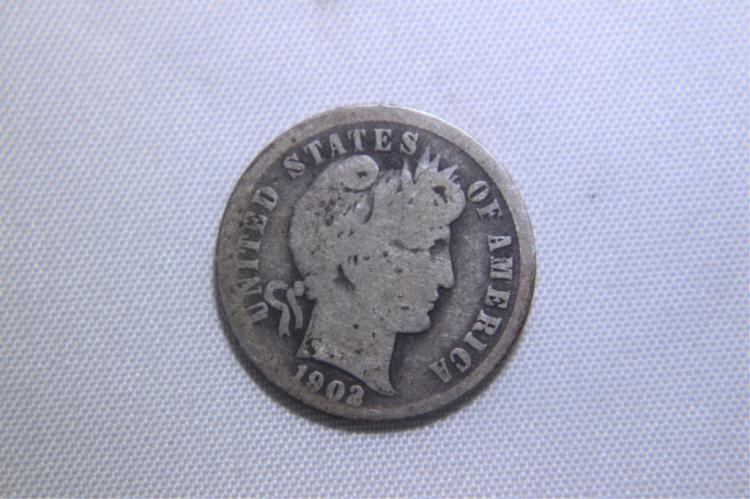 1902 Mercury Dime