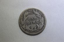 1914 Mercury Dime