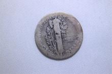1919 Mercury Dime