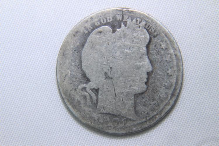1901 Barber Quarter 1901 Barber Quarter