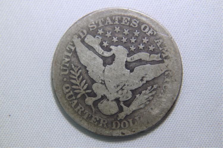 1909 Barber Quarter 1909 Barber Quarter