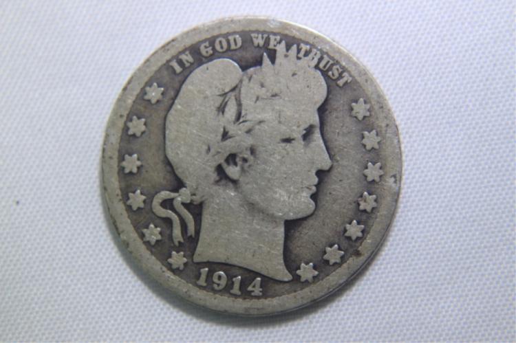 1914 Barber Quarter 1914 Barber Quarter