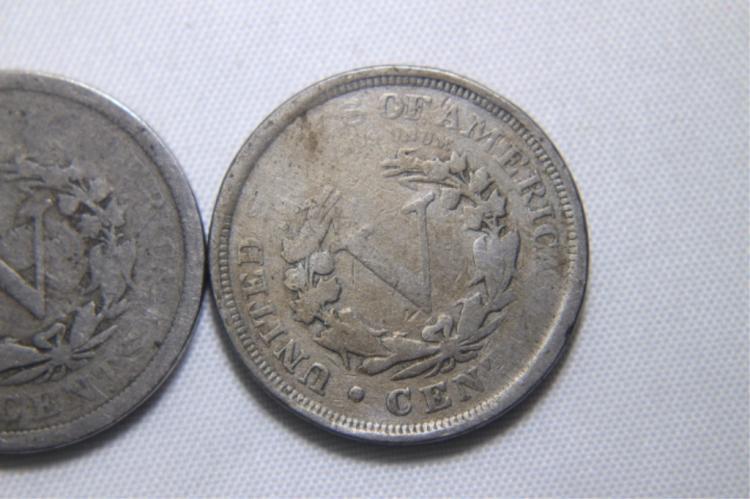 3- V Nickels 3 - 1903