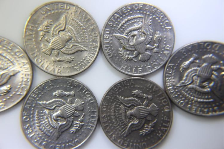 1979 Kenedy Half Dollar 6 1979 Kenedy Half Dollars No Mark