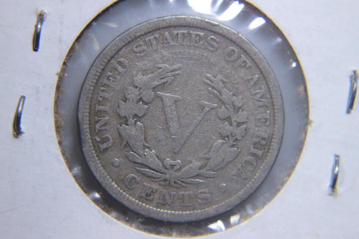 1910 V Nickel 1910 V Nickel