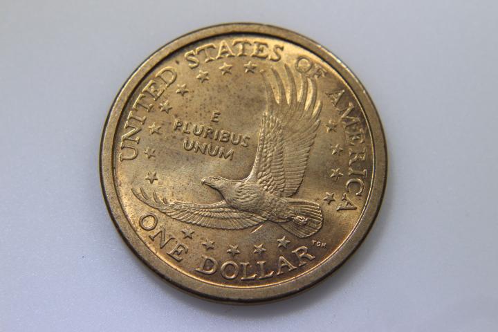 5-Sacagawea Dollars 5-Sacagawea Dollars