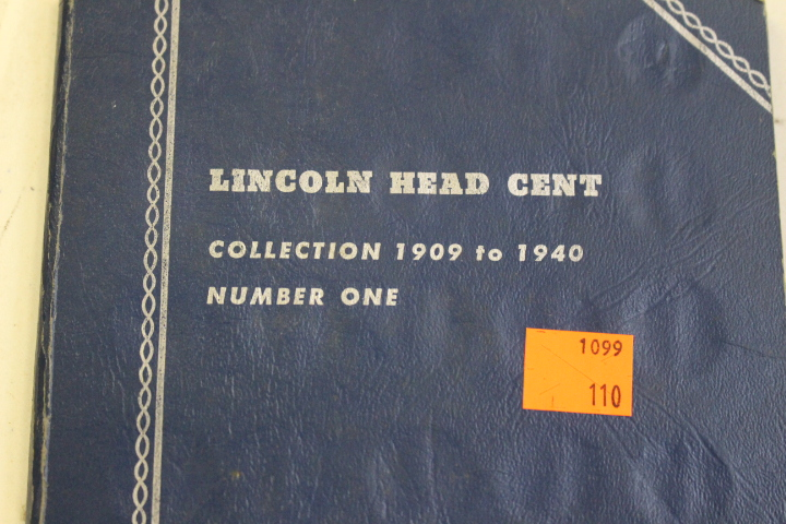 Lincoln Head Cent Collection of 1909 - 1940 Not complete
