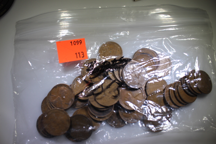 1920's Wheat Pennies I have a bag with different mint marks from the years 1920-1929