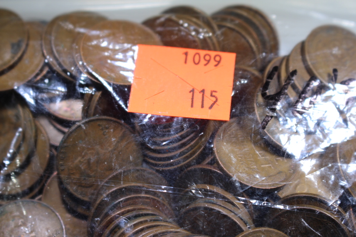1940's Wheat Pennies I have a bag of 1940's Wheat Pennies from 19040-1949 with different mint marks
