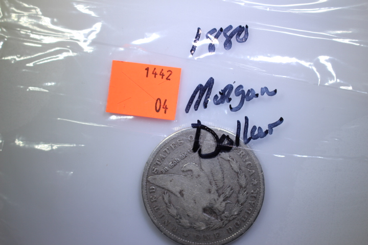 1880 Morgan Dollar 1880 Morgan Dollar