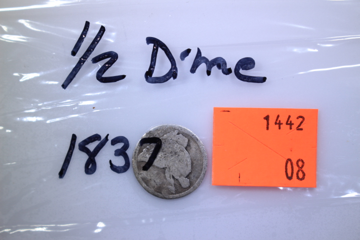 1837 Half Dime 1837 Half Dime