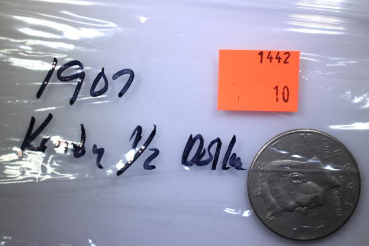 1907 P Kenedy Half Dollar 1907 Kenedy Half Dollar Mint Mark P