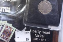 Famous Coins of the American Frontier 1911 Liberty Head Nickel