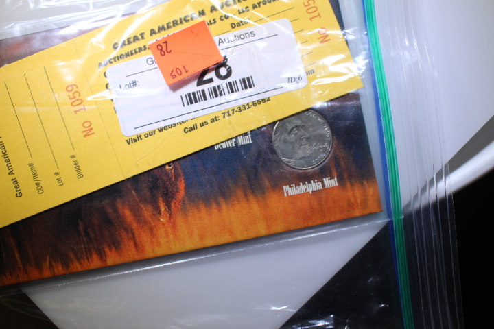 2005 American Bison Nickel Set