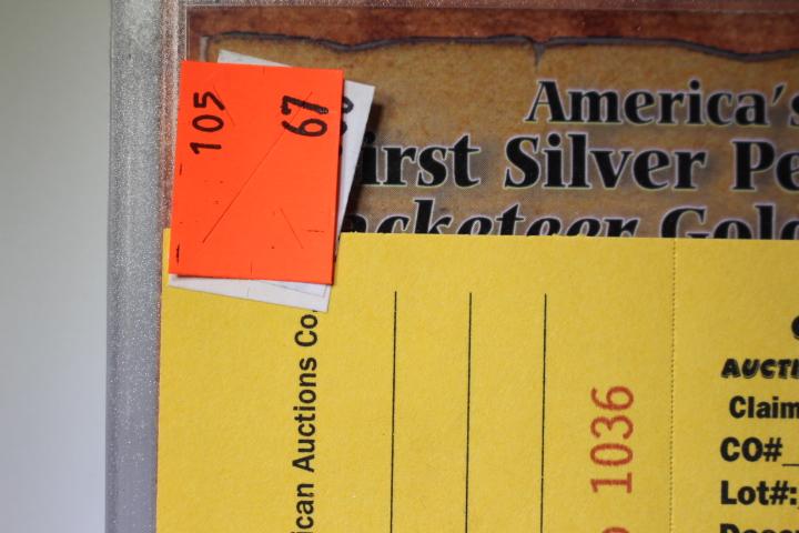 Americas First Silver Penny & Racketeer Nickel
