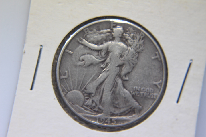 1945 Walking Liberty