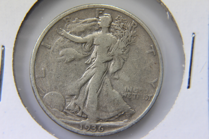 1936S Walking Liberty