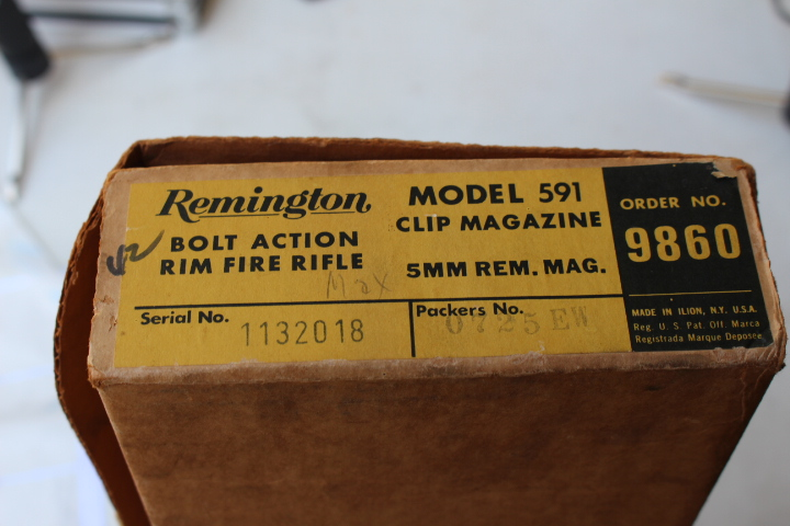 Remington Model 591 Still in Box