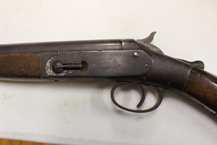 HOPKINS & ALLEN ARMS COMPANY, SHOTGUNS: SINGLE SHOT 12Ga Goose Gun