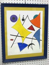 MODERN ABSTRACT PAINTING - MIRO STYLE