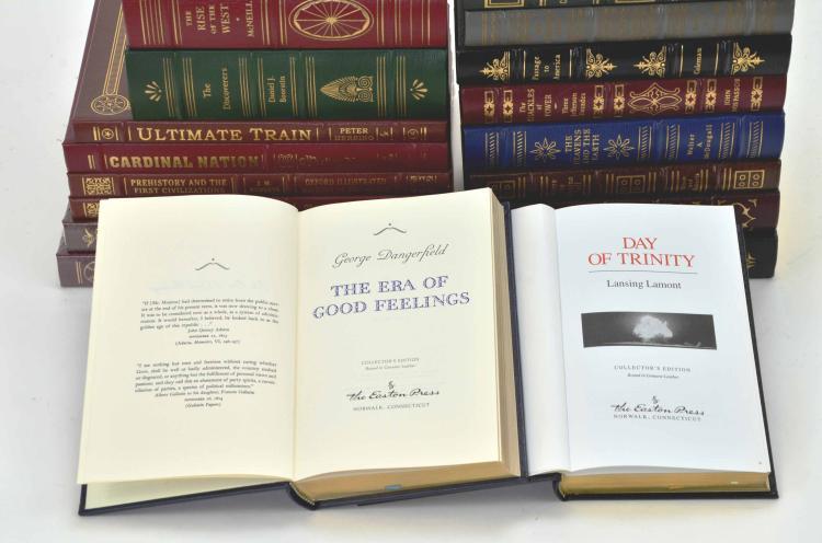 Collection of 27 Easton Press & Oxford University Press Books