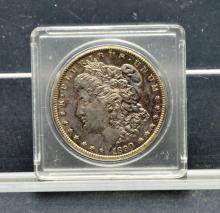 US 1890 CC Carson City Morgan Silver Dollar Coin