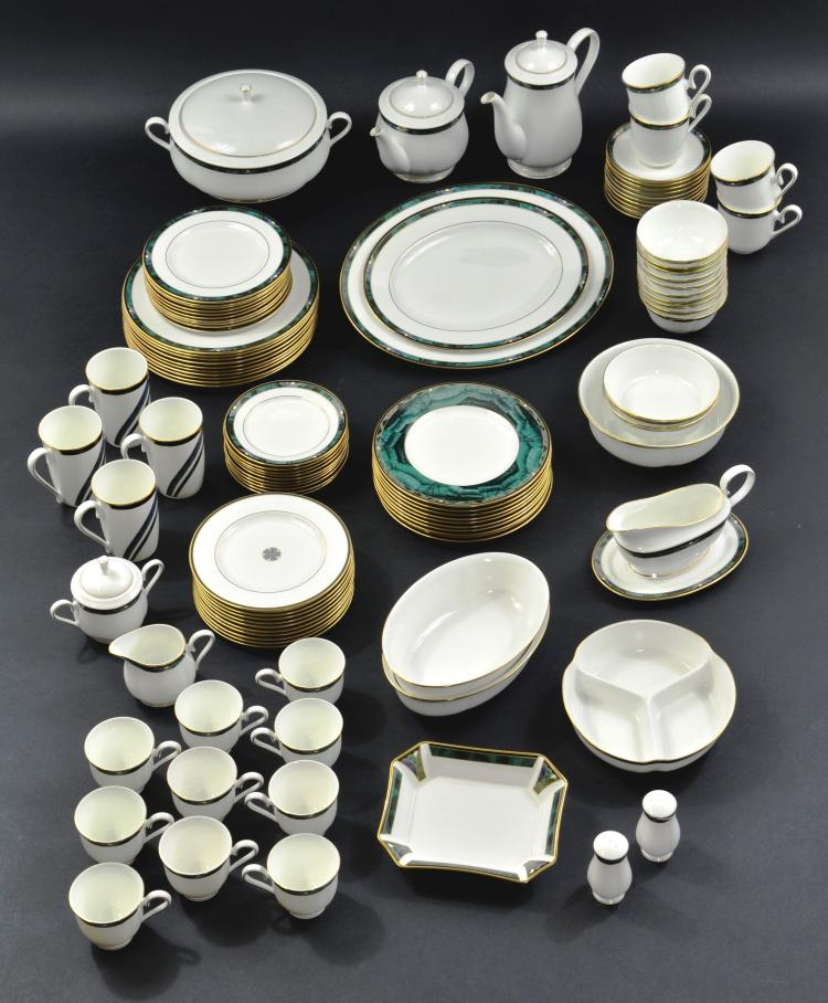 "92 Piece Set of Debut Collection ""Kelly"" Lenox Fine Bone China Dinner Ware"