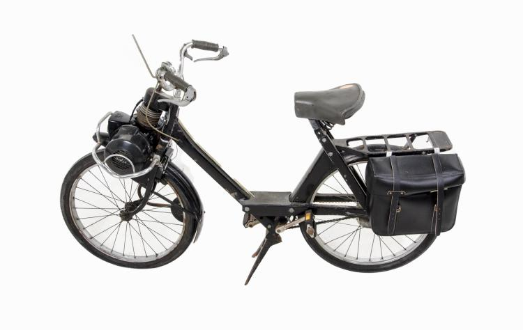 Vintage Solex 3800 Motorbike Scooter w/ Saddlebag