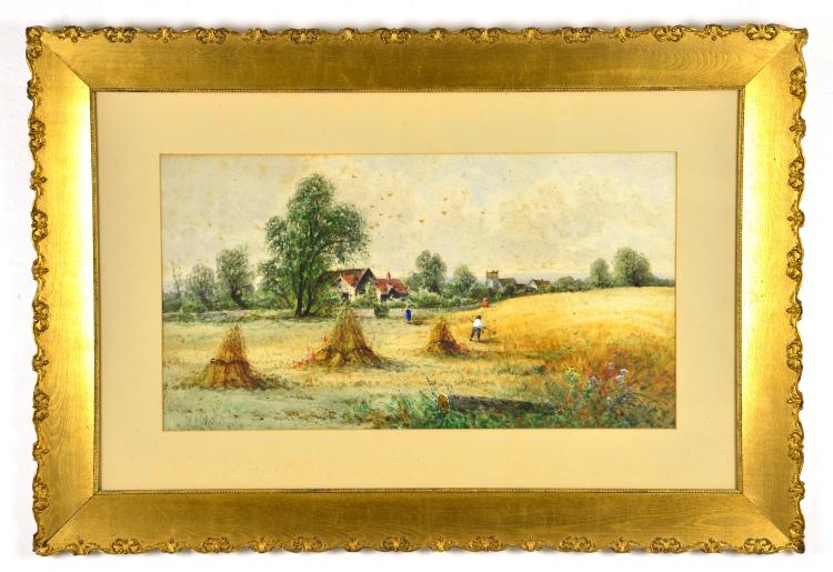 Original Watercolor, by Listed Artist S.A. Mullholland