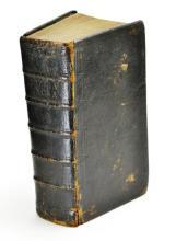 1780 Pennsylvania German Biblia Sacra D. Johann Philip Frefeni  Leather Bound Bible