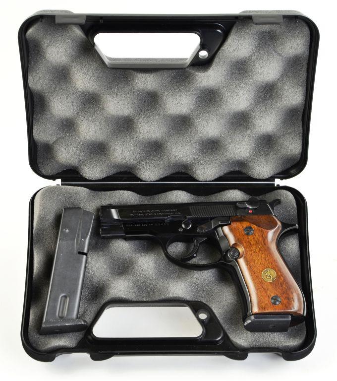 Beretta Browning BDA .380 SA/DA Fabrique Nationale Herstal Italy Hand Gun