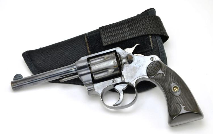 Early Colt Police Positive .32 Police CTG Six Shot Revolver