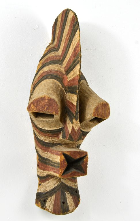 African Songe Kifebwe Carved Wood Mask, Sotheby's 2000, Private Collection