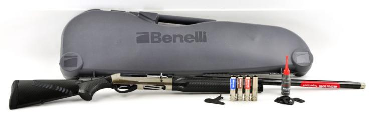 "New in Case Italy Benelli Inertia System ""Super Sport"" 12 Gauge with Criobarrel"