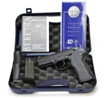 New in Box Beretta Model PX4 Pistol in .40 S&W with (2) 14 Round Magazines and Grip Modifiers