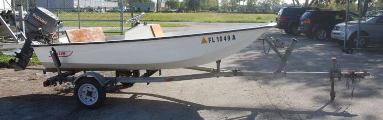 1963 Boston Whaler 13' Boat