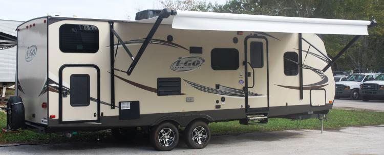 2014 Evergreen IGO Lite, 28' Travel Trailer G256BH w/ Upgrades
